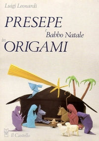 Cover of Crib and Santa Claus in Origami by Luigi Leonardi