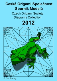 Cover of Czech Origami Convention 2012