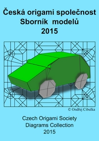 Cover of Czech Origami Convention 2015