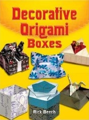 Cover of Decorative Origami Boxes by Rick Beech
