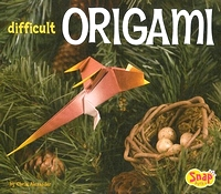 Cover of Difficult Origami by Chris Alexander