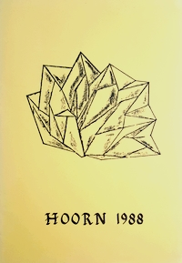 Cover of Dutch Origami Convention 1988 Hoorn