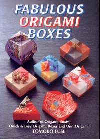 Cover of Fabulous Origami Boxes by Tomoko Fuse