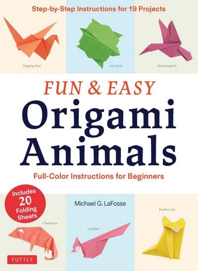 make easy paper crafts: Origami Instructions sqirrel 3D | 547x400