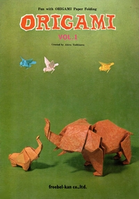 Cover of Fun with Origami Paper Folding - Vol. 1 by Akira Yoshizawa