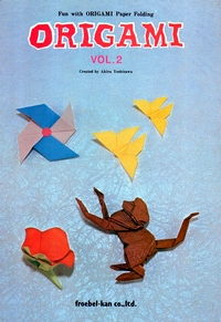 Cover of Fun with Origami Paper Folding - Vol. 2 by Akira Yoshizawa