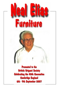 Cover of Neal Elias - Furniture by Dave Venables