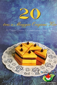 Cover of Hungarian Society 20th Anniv