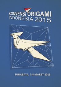 Cover of Indonesian Origami Convention 2015