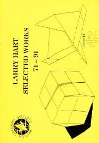 Cover of Larry Hart Selected Works 71-91 by Larry Hart
