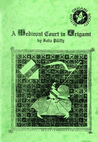 A Medieval Court In Origami book cover