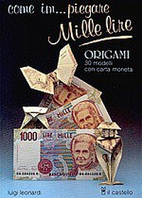 Cover of Come im piegare Mille Lire by Luigi Leonardi