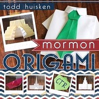 Cover of Mormon Origami by Todd Huisken