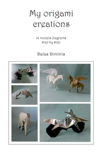 Cover of My Origami Creations by Dimitris Dalas