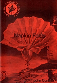 Cover of Napkin Folding by John Cunliffe