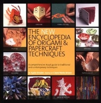 Cover of The New Encyclopedia of Origami and Papercraft Techniques by Ayako Brodek