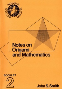 Notes on the History Of Origami book cover