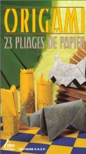 Cover of Origami - 23 Pliages de Papier by Lionel Albertino