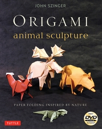 Cover of Origami Animal Sculpture by John Szinger