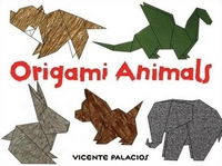 Cover of Origami Animals by Vicente Palacios
