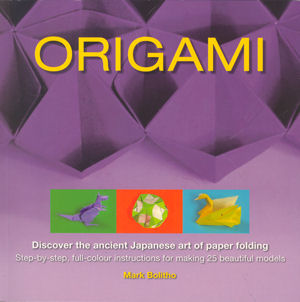 Cover of Origami (Bolitho) by Mark Bolitho