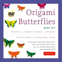 Cover of Origami Butterflies Mini Kit by Michael G. LaFosse and Richard L. Alexander