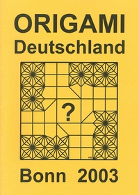 Cover of Origami Deutschland 2003