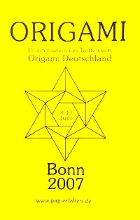 Cover of Origami Deutschland 2007