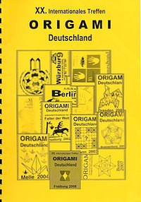 Cover of Origami Deutschland 2008
