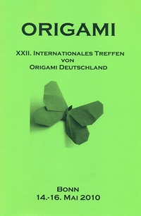 Cover of Origami Deutschland 2010