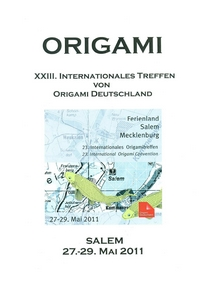 Cover of Origami Deutschland 2011
