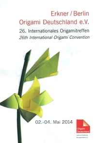 Cover of Origami Deutschland 2014