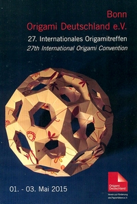 Cover of Origami Deutschland 2015
