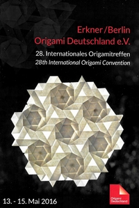 Cover of Origami Deutschland 2016