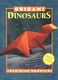 Cover of Origami Dinosaurs by Yoshihide Momotani