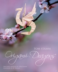 Cover of Origami Dragons by Tom Stamm