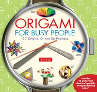 Cover of Origami for Busy People by Marcia Joy Miller