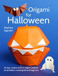 Cover of Origami for Halloween by Stephane Gigandet