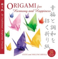 Origami for Harmony and Happiness book cover