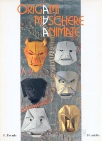 Cover of Origami Maschere Animate by Franco Pavarin
