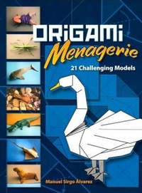 Cover of Origami Menagerie by Manuel Sirgo