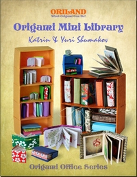 Cover of Origami Mini Library by Katrin and Yuri Shumakov