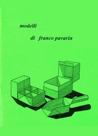 Cover of Modelli di Franco Pavarin by Franco Pavarin