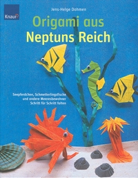 Cover of Origami from Neptune's Kingdom by Jens-Helge Dahmen