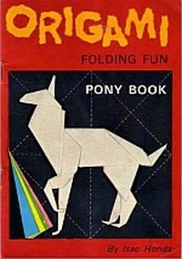 Origami Folding Fun: Pony Book book cover