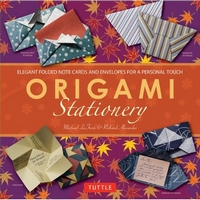 Cover of Origami Stationary by Michael G. LaFosse