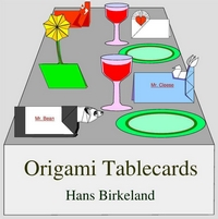 Cover of Origami Tablecards by Hans Birkeland