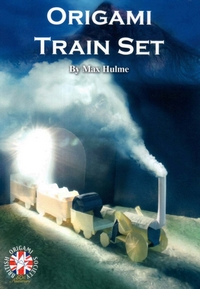 Origami Train Set - Revised Edition book cover