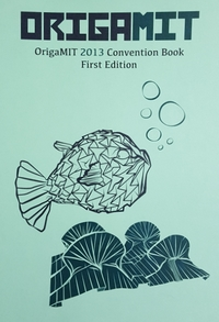 Cover of OrigaMIT 2013 Convention Book