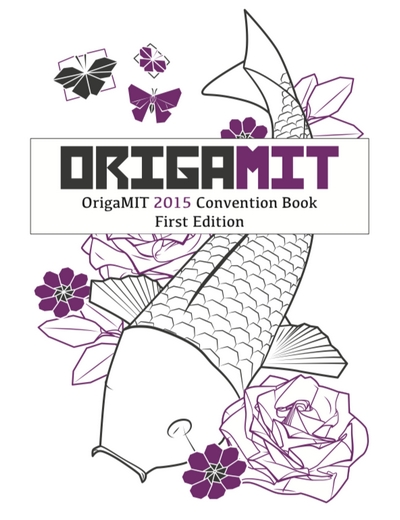Cover of OrigaMIT 2015 Convention Book
